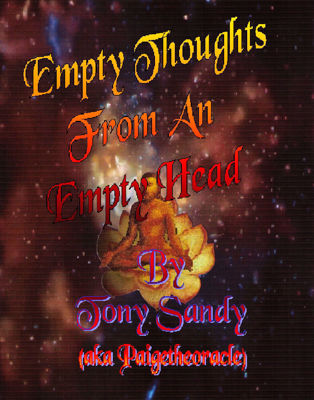 Picture of Empty Thoughts From An Empty Head by Tony Sandy