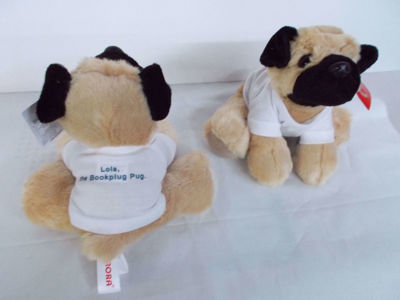 Picture of Lola The Bookplug pug
