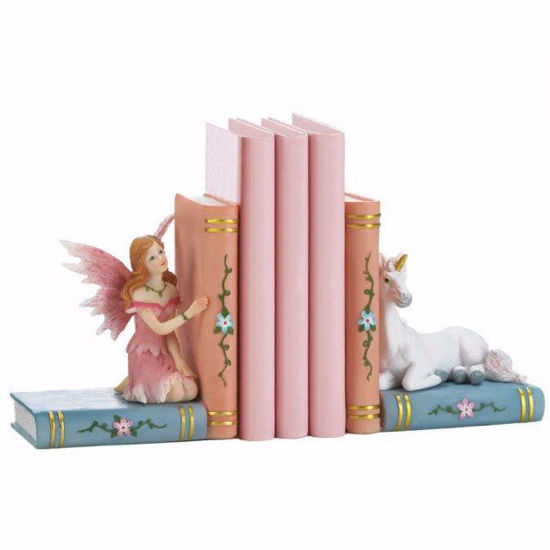 Picture of Fairy and Unicorn Bookend