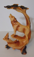 Picture of Wolf and Cub howling