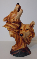 Picture of Wolf 2 heads Bust
