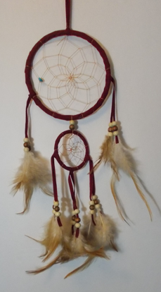 Picture of Dreamcatcher - Double (Burgundy)