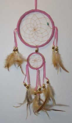 Picture of Dreamcatcher - Double (Pink)