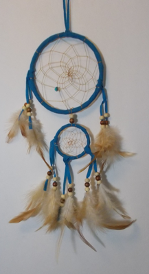 Picture of Dreamcatcher - Double (Teal)