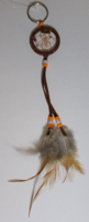 Picture of Dreamcatcher Keychain (Brown)