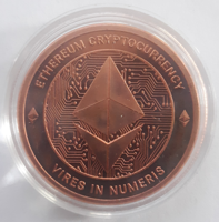 Picture of Ethereum CryptoCurrency Commemorative (1 oz. Copper Rounds) Coin