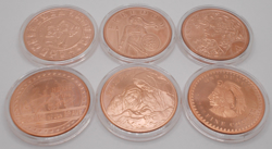 Picture for category Copper Commemorative Coins